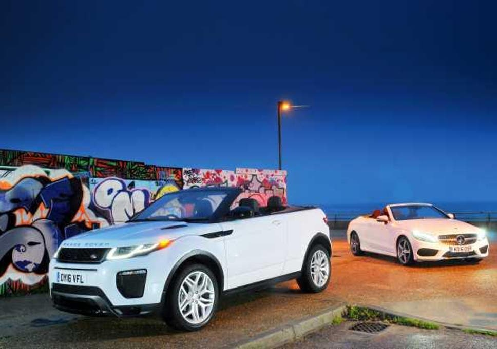 Twin Test Range Rover Evoque Convertible V Mercedes C Class