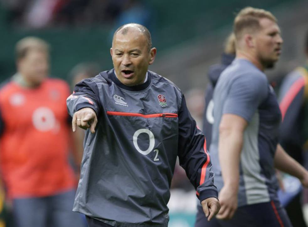 Eddie Jones wants England to build on there 37-21 win over South Africa
