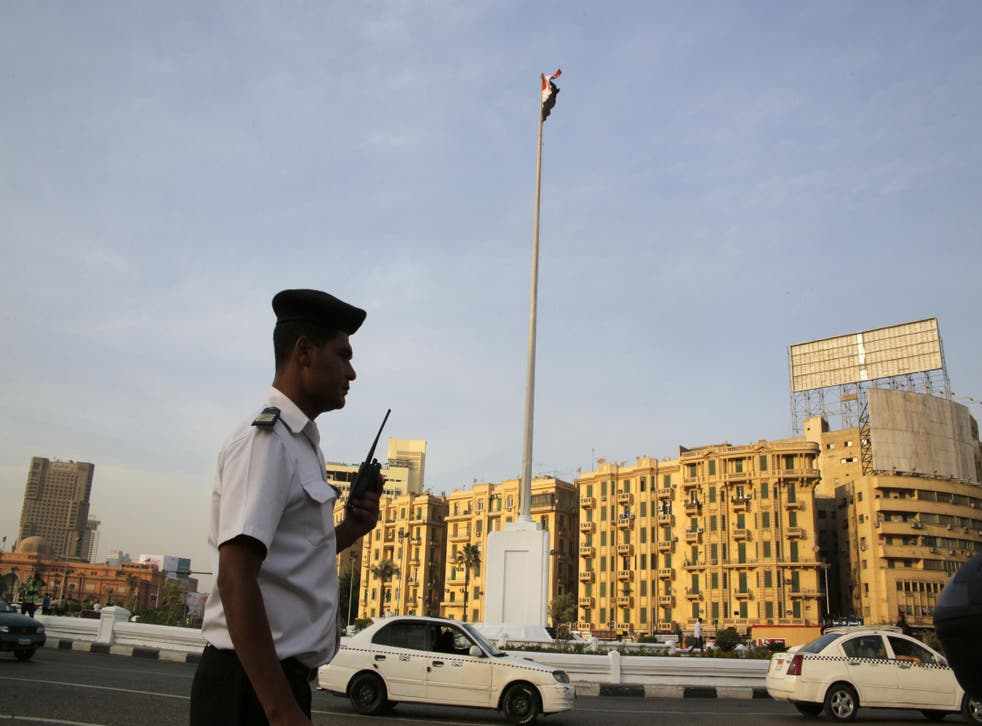 In anticipation of protests against economic austerity measures, Egyptian security forces were heavily deployed on the streets of Cairo and across the country