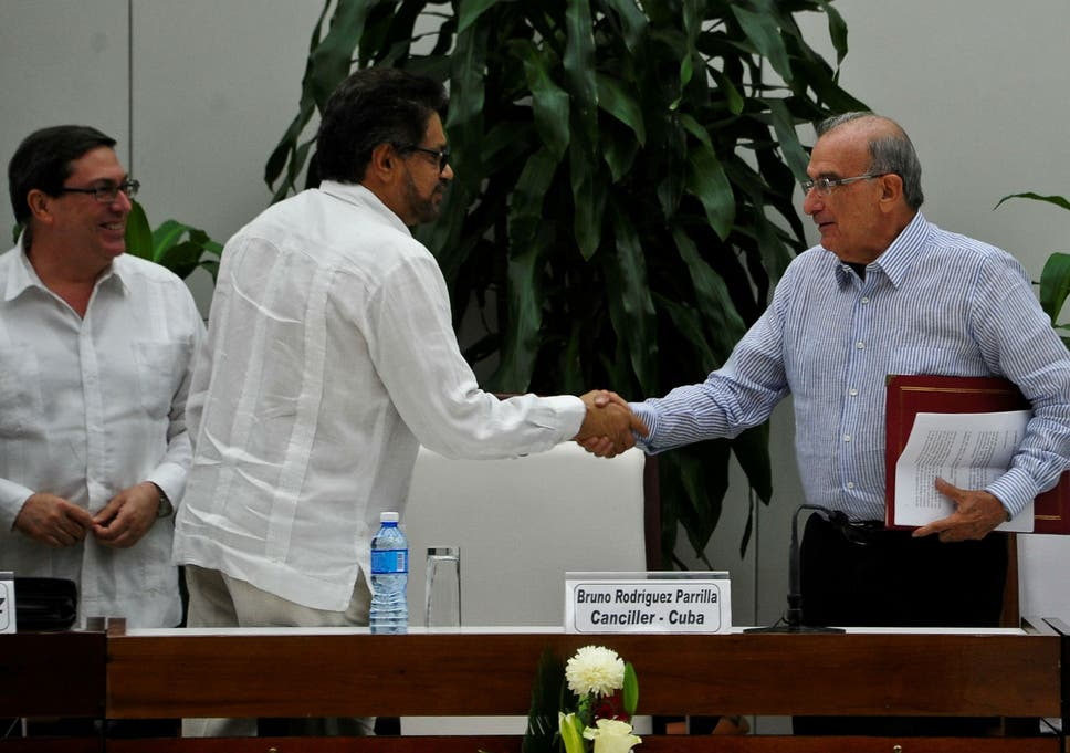 Colombia Reaches New Peace Deal With Farc Rebels To End 52 Year