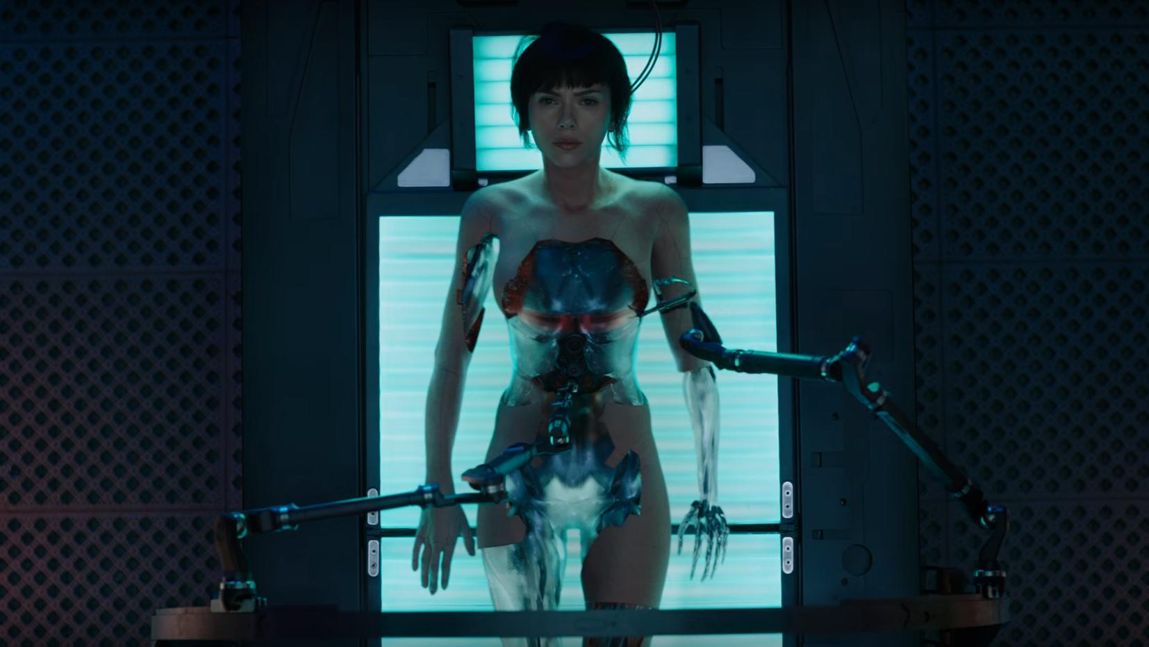 Ghost in the Shell trailer: First full look at Scarlett Johansson in controversial manga adaptation