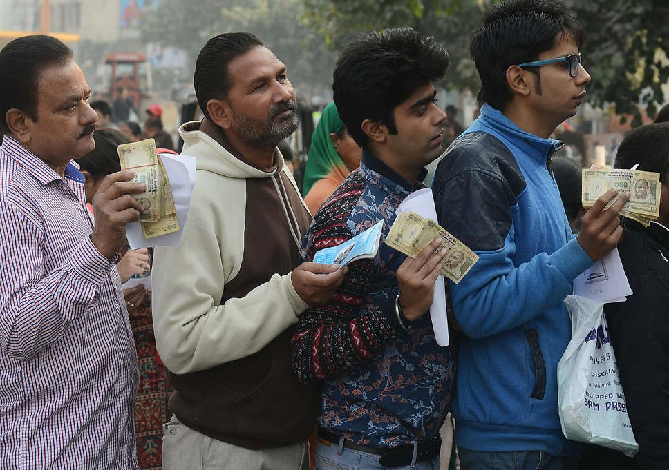 Image of: Buy People Queue Outside Bank To Deposit And Exchange 500 And 1000 Rupee Notes In Amritsar The Independent Rich People In India Are Begging The Poor To Help Them After Large