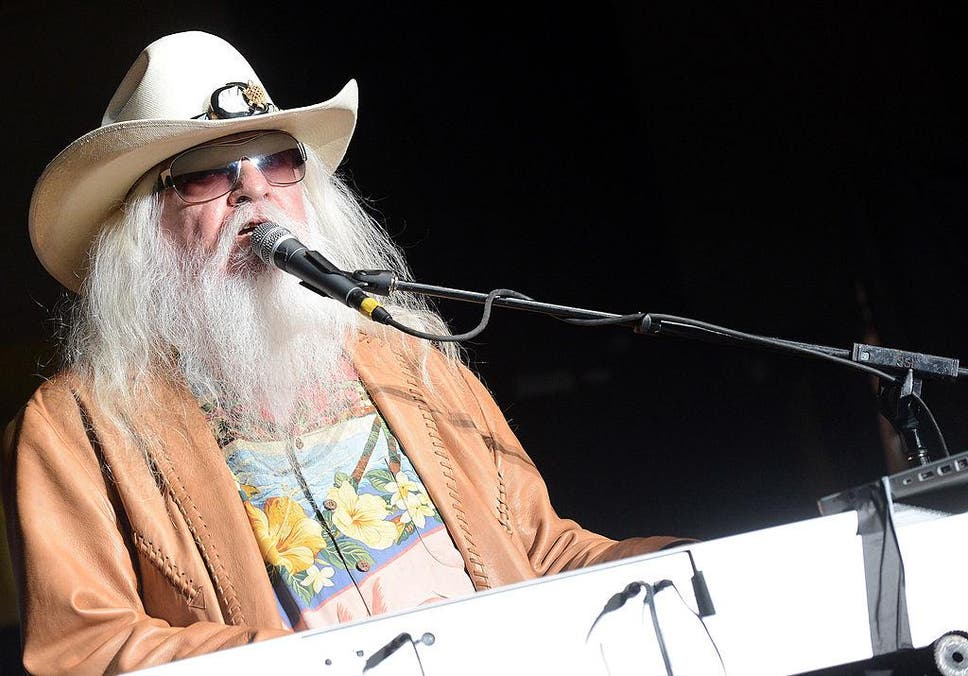 Leon Russell performs onstage during the Agency Group Party at at IEBA Conference Day 3 at the War Memorial Auditorium on October 9, 2012 in Nashville, Tennessee