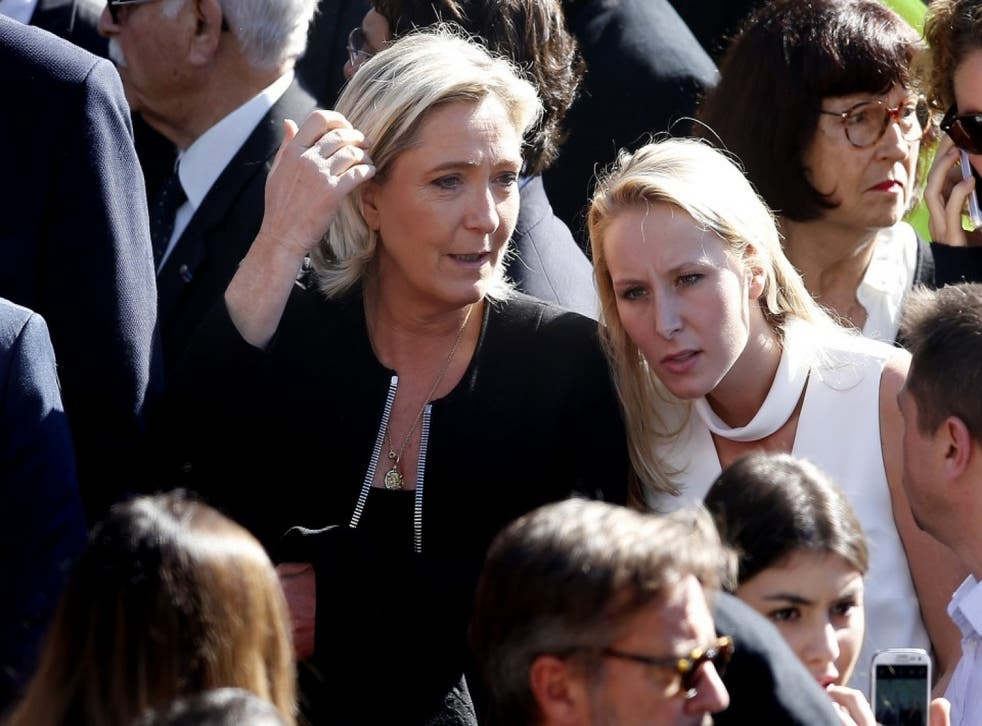 Ms Le Pen declared she would form a 'new political group'