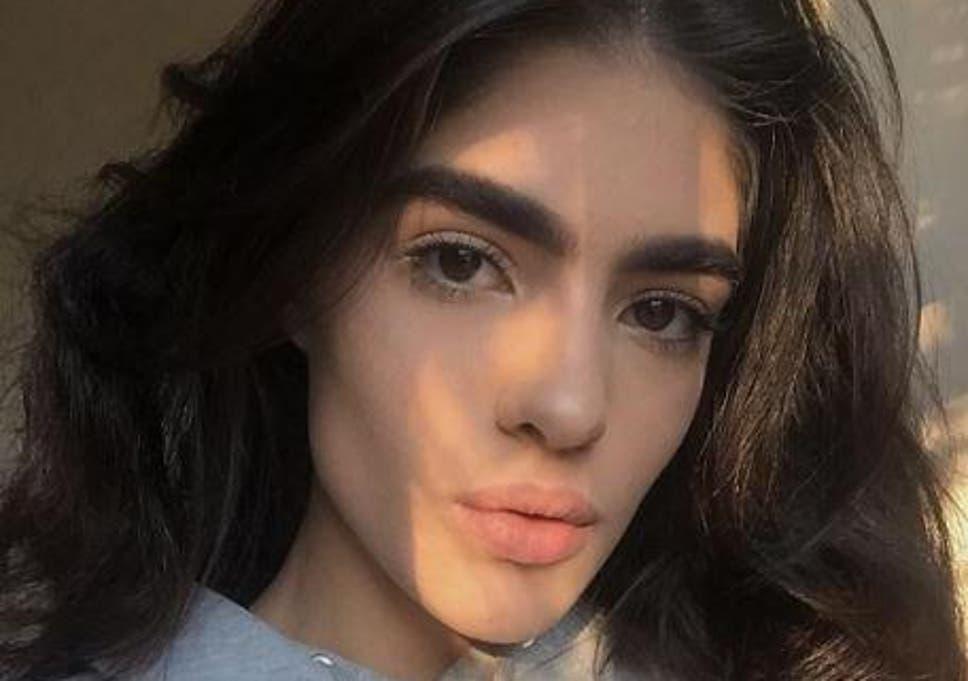 Natalia Castellar 17 Year Old Model Bullied For Bushy Brows Lands