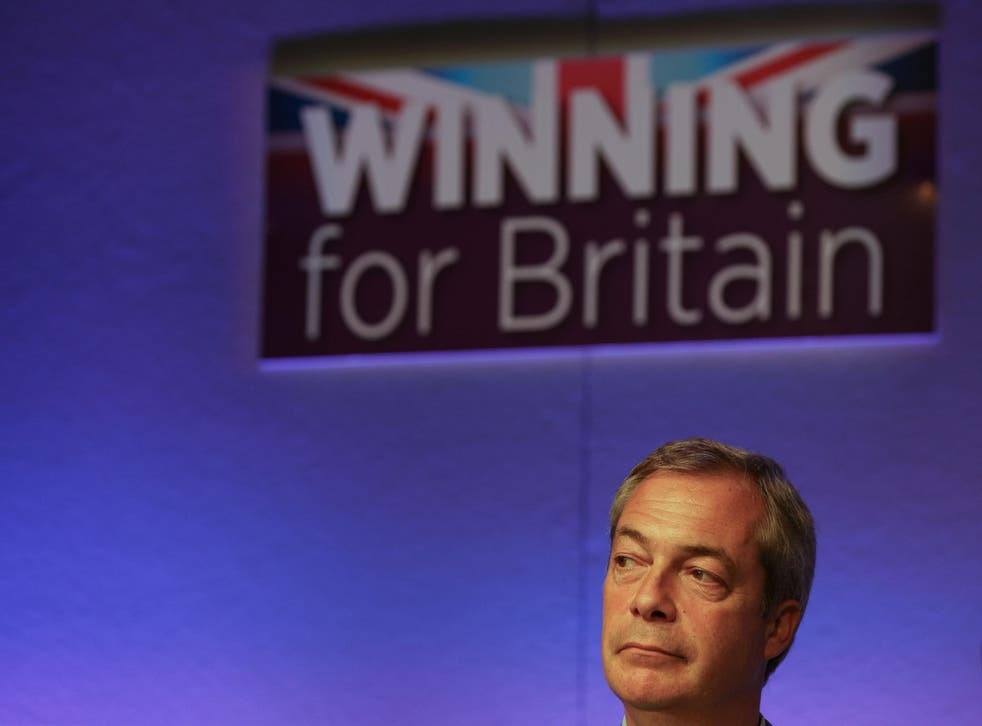 Downing Street has downplayed the significance of the interim Ukip leader's meeting with the President-elect
