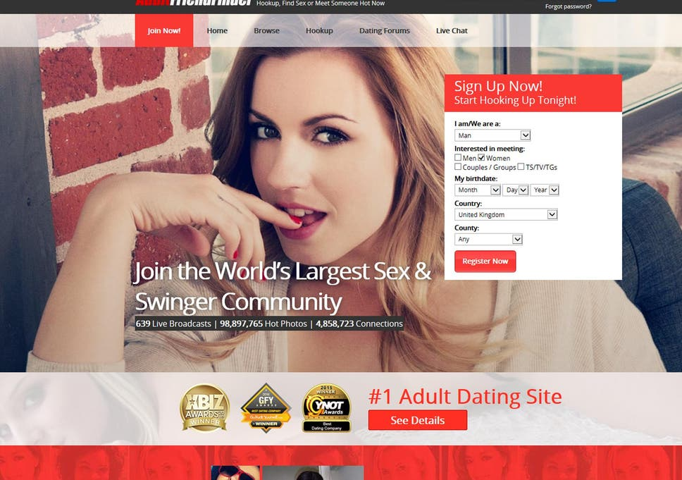 Adult personals site myspace.com