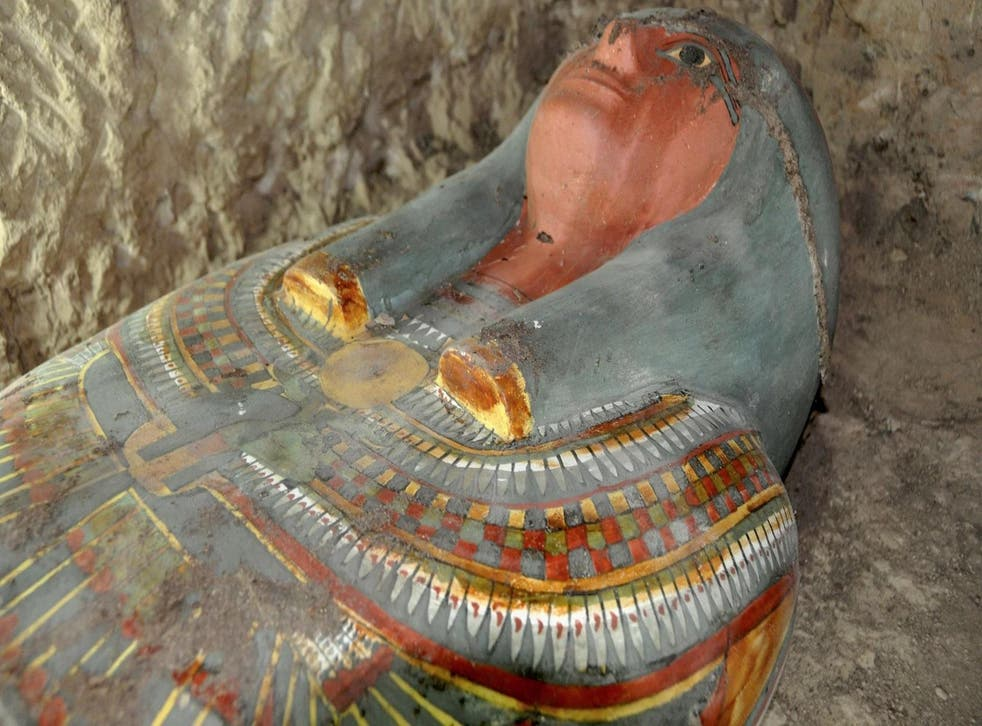 The body is thought to belong to nobleman who served in the royal household of warrior king Thutmose III