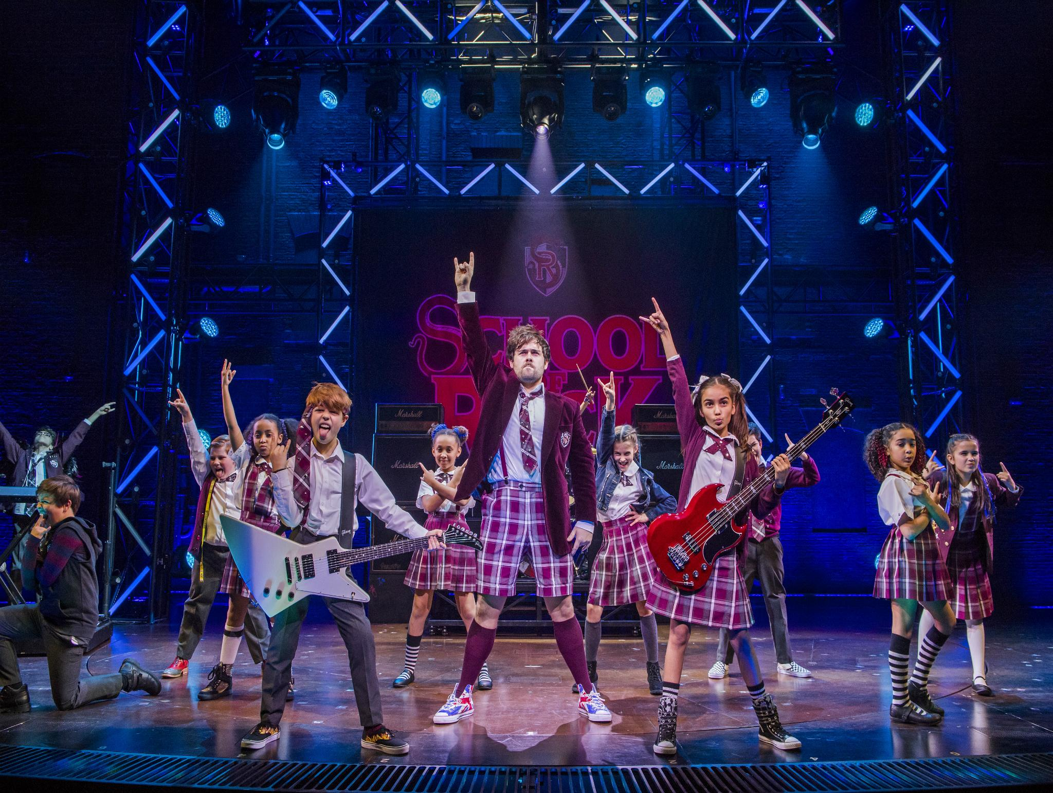 School of rock the musical new london theatre london review a ridiculously entertaining new show the independent
