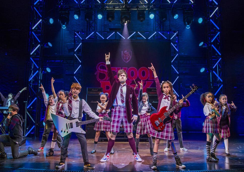 School Of Rock The Musical New London Theatre London Review A