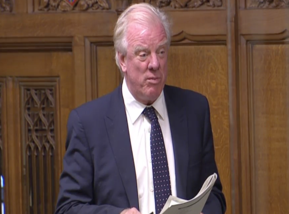 Sir Edward Leigh called for an 'honest debate' on NHS charges