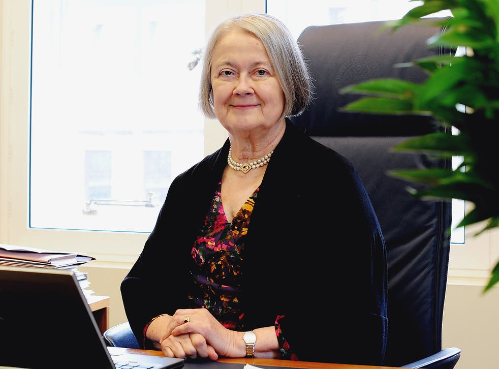 Baroness Hale of Richmond, also known as Lady Hale