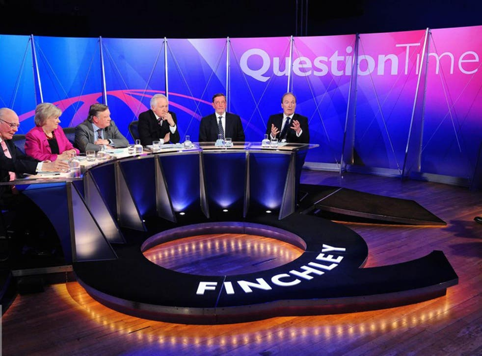 BBC Question Time: one out of six isn't bad...