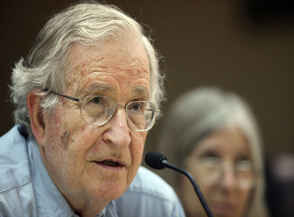 Noam Chomsky blames mainstream media for the unpopularity of Labour leader Jeremy Corbyn