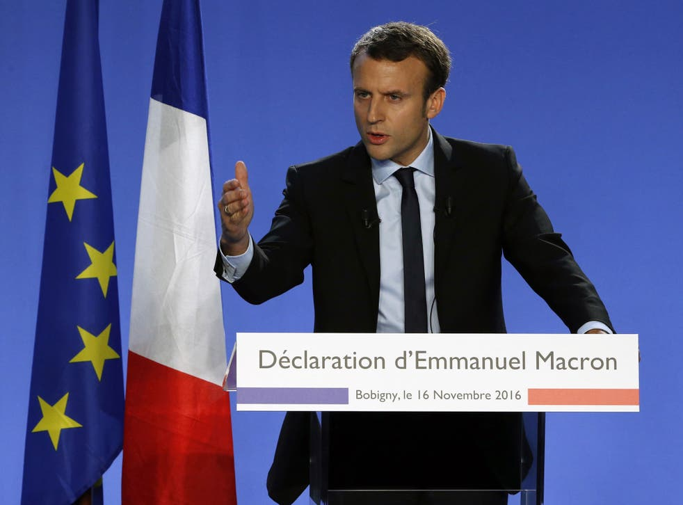 Emmanuel Macron started his own political movement in April