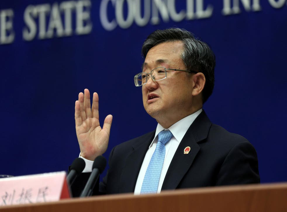 Chinese foreign minister Liu Zhenmin said China and the US should work together to tackle climate change