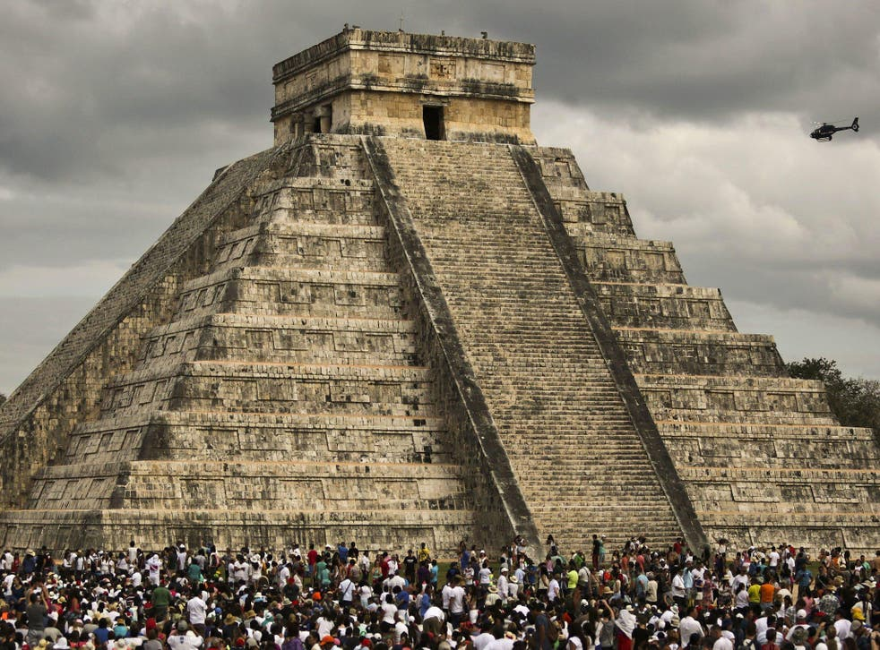 El Castillo is one of Mexico's most famous Mayan temples and attracts 1.4 million visitors a year