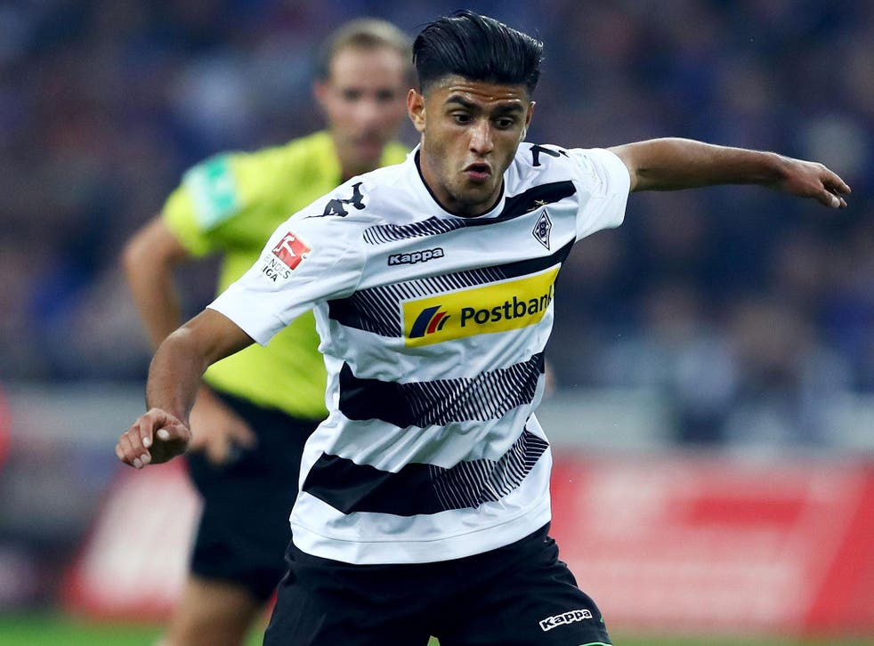 Dahoud has been linked with a move to Anfield since the back-end of last season