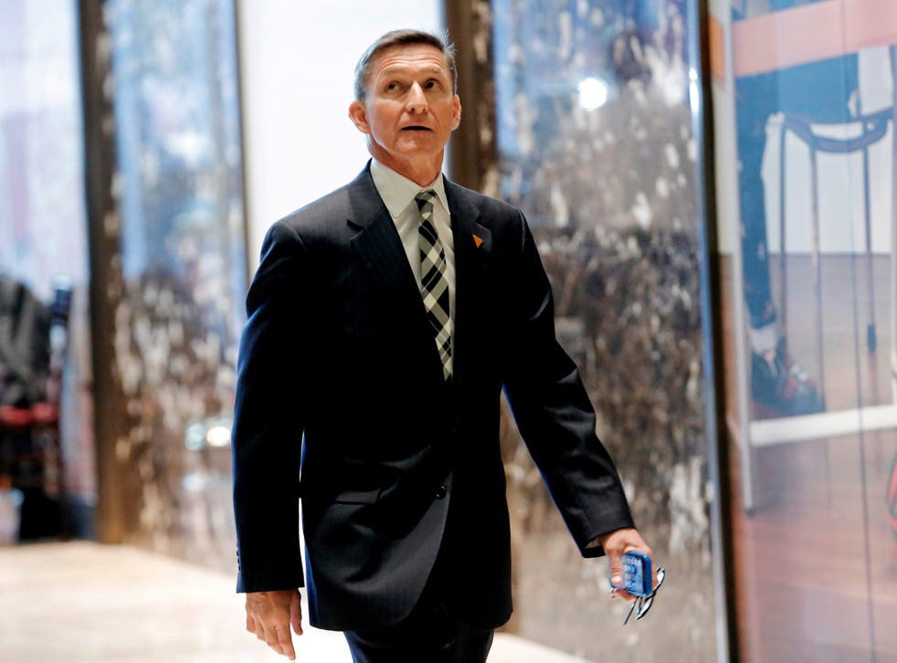 The son of retired US Army Lieutenant General Michael Flynn has been sharing the fake theories on social media