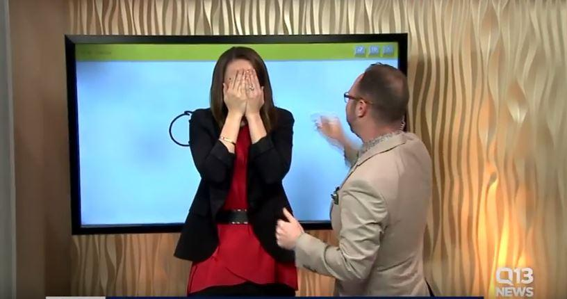 News anchor attempts to draw cannon on live TV, ends up with