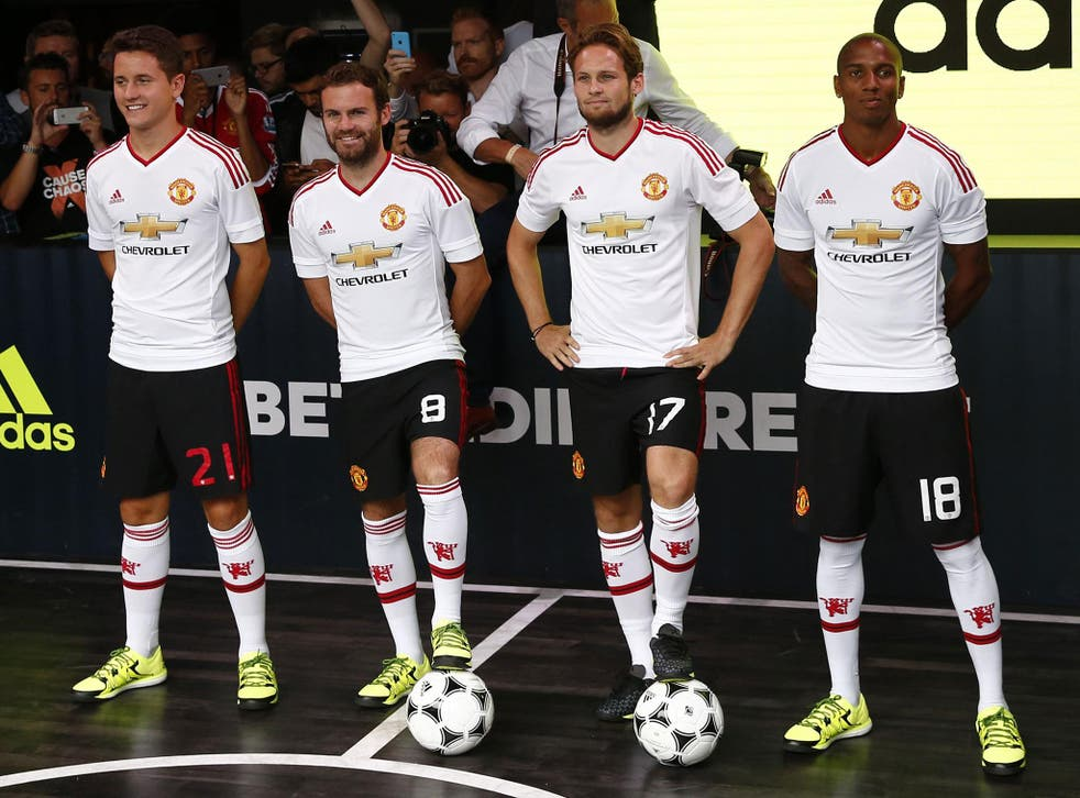 United is in its second season of a 10-year, £750m deal with Adidas