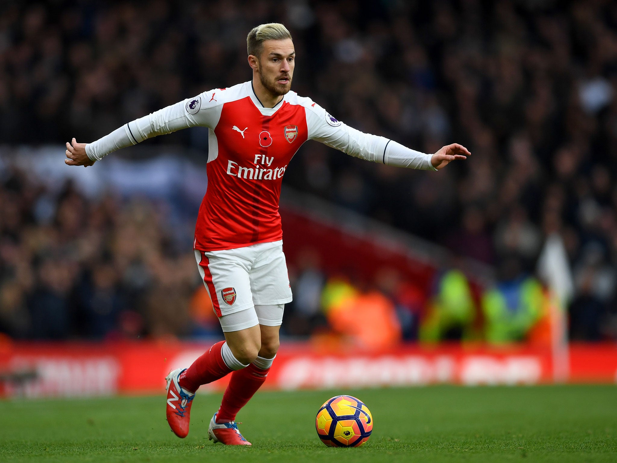 Ramsey: Arsenal News: Real Madrid Target Aaron Ramsey With £25m