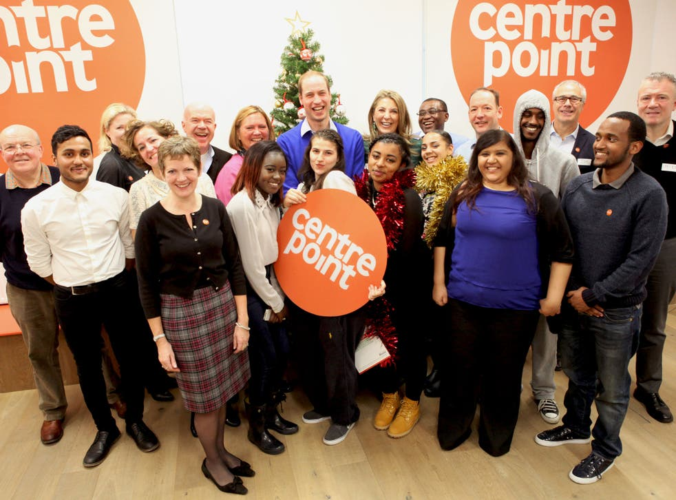 The Duke of Cambridge visits Centrepoint's Healthy Living Centre in Soho, London