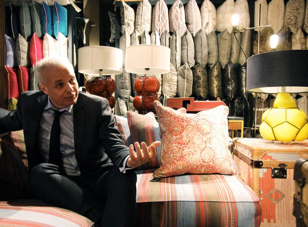 Martin Waller, otherwise known as the modern day Indian Jones, in his South Kensington showroom