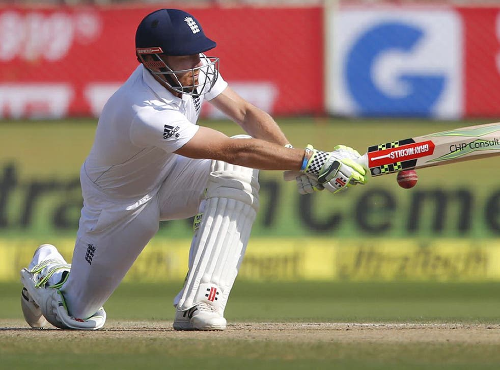 England were 87 for four before lunch