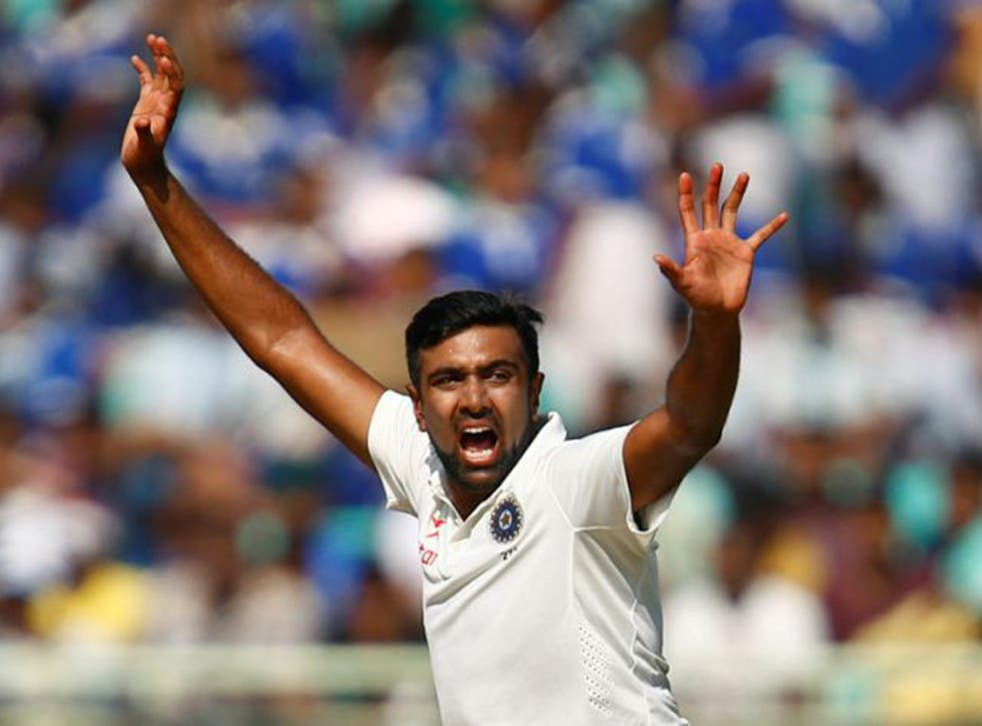Ashwin took five for 67 in England's first innings