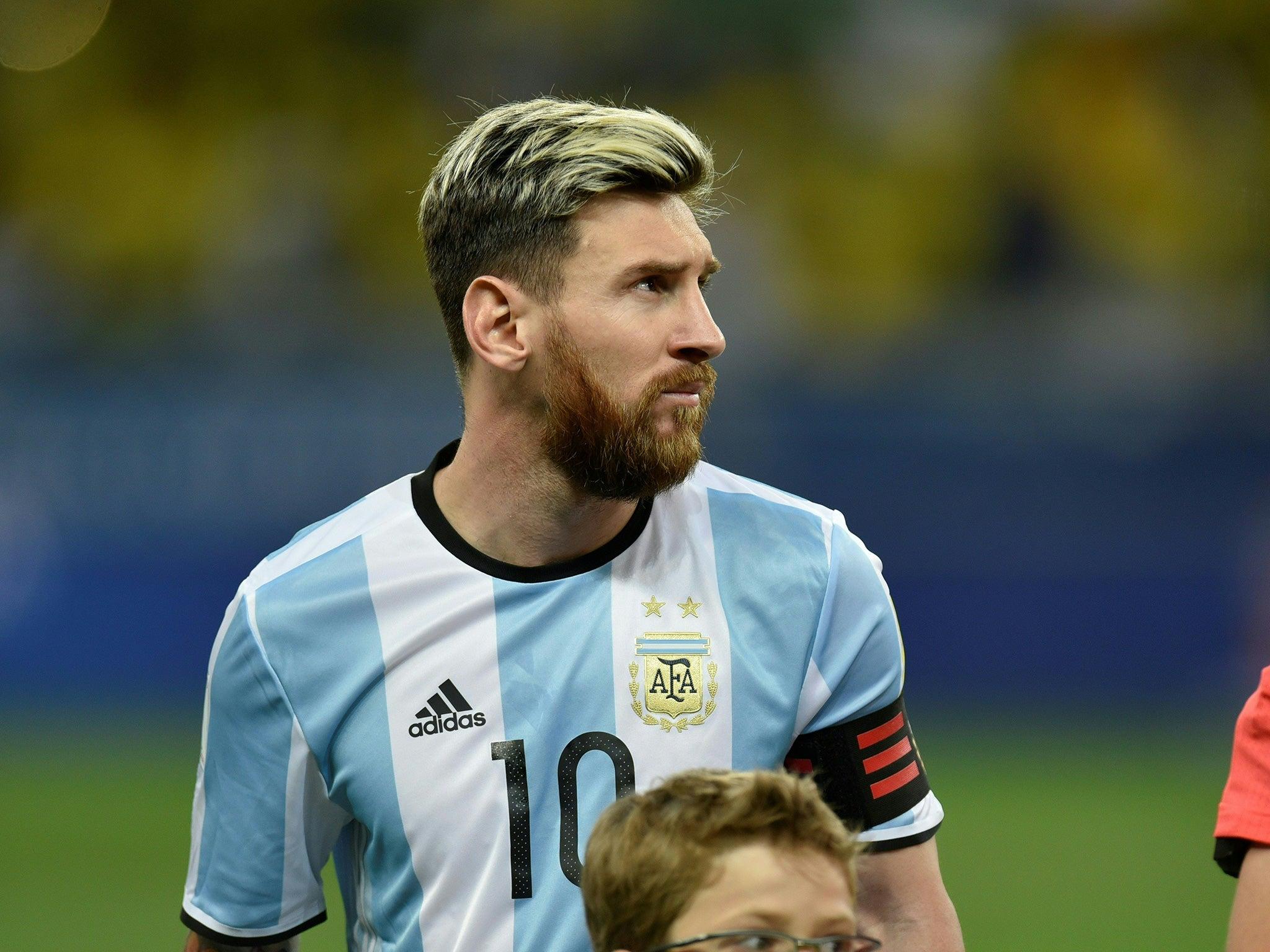 Lionel Messi bails out...