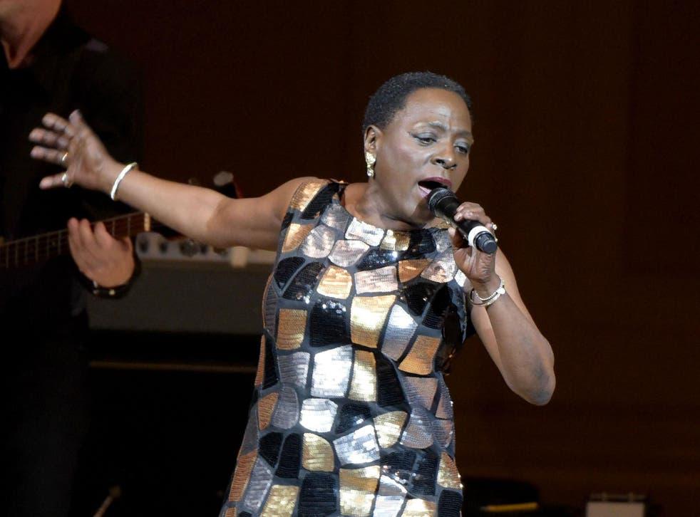 Sharon Jones performing