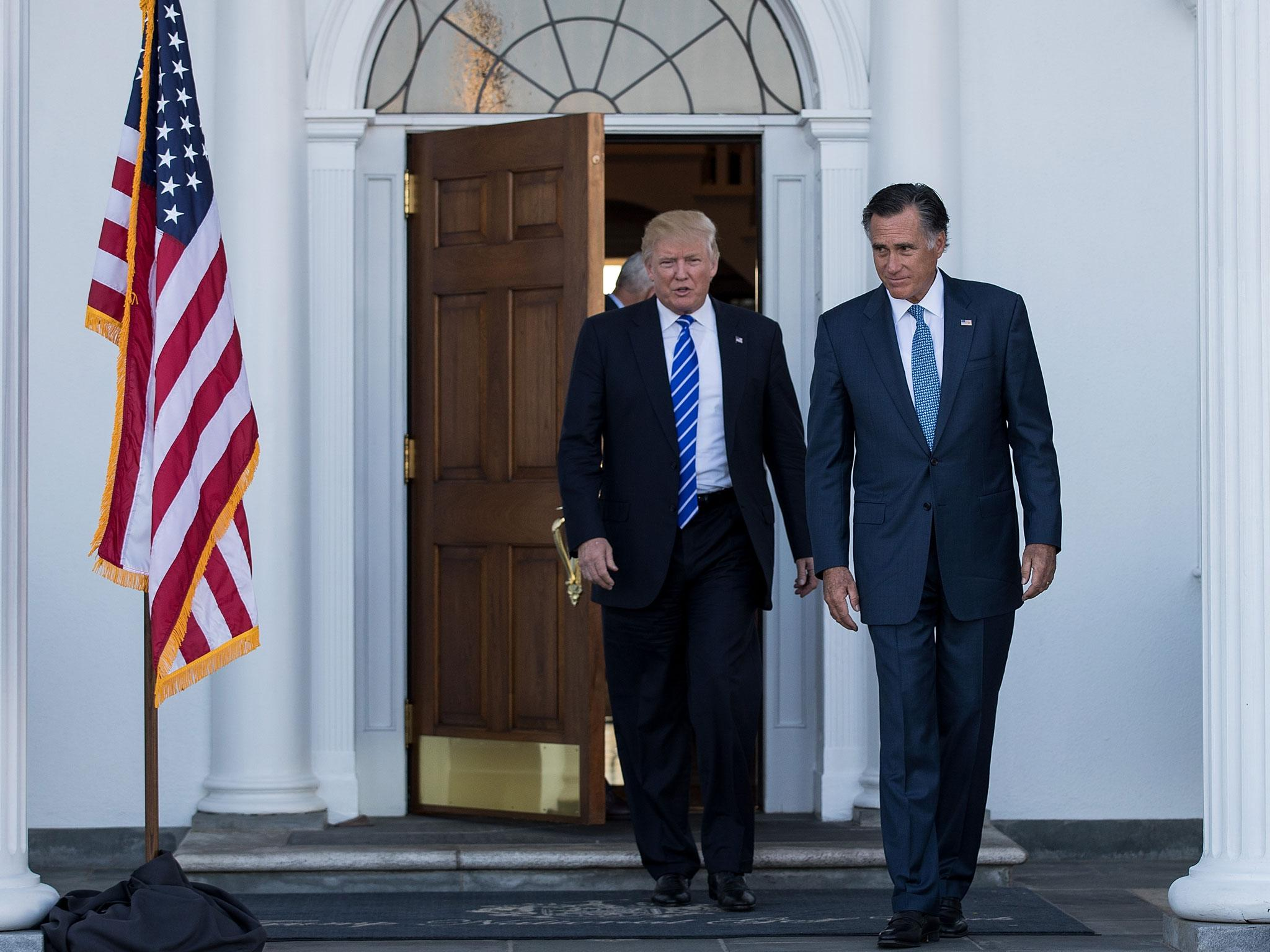 Mike Pence confirms Mitt Romney is a top pick for secretary of ...