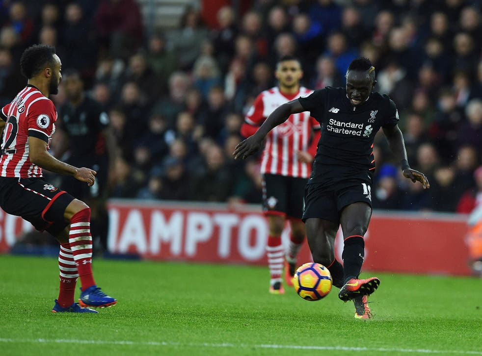 Mane couldn't lead Liverpool to victory over his former side on the south coast