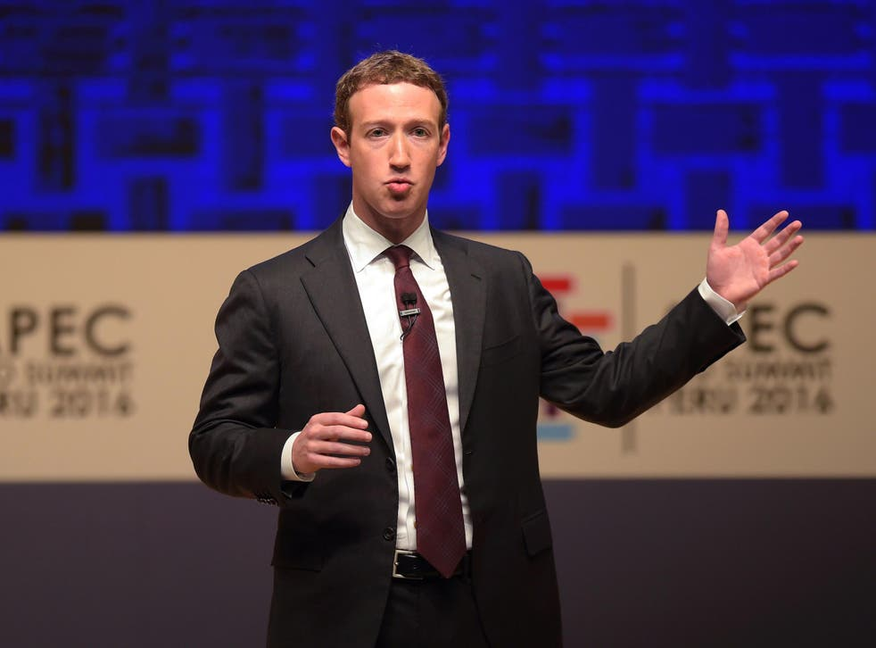 Zuckerberg: 'We're also going to crack down on spammers who masquerade as well-known news organisations'