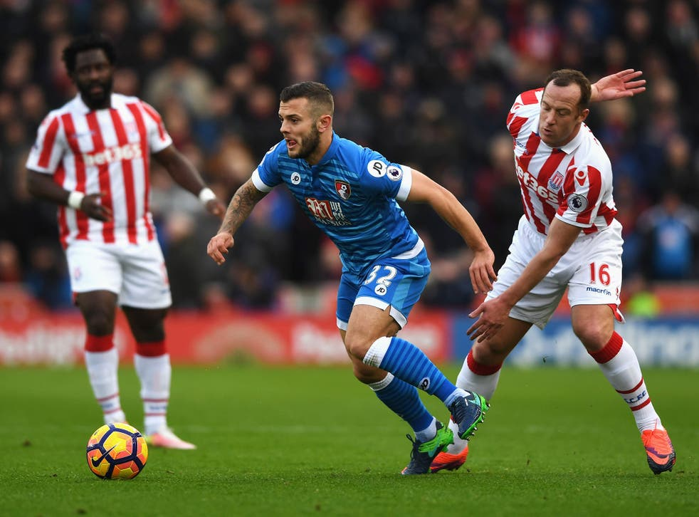 Wilshere completed his third 90-minute Premier League game of the season against Stoke at the weekend