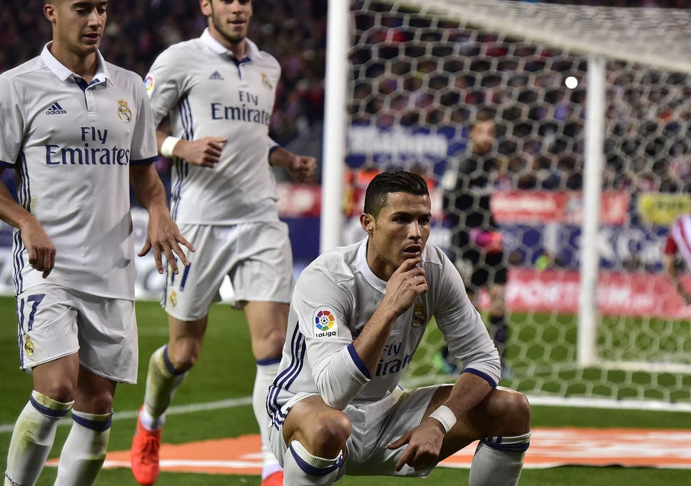 Cristiano Ronaldo gets mocked by his own son following hilarious goal  celebrations 146738450