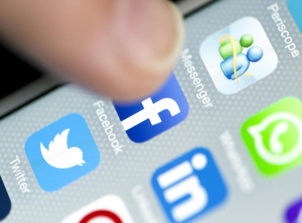 Newspaper headlines blame the 24/7 nature of social media for causing teenagers distress