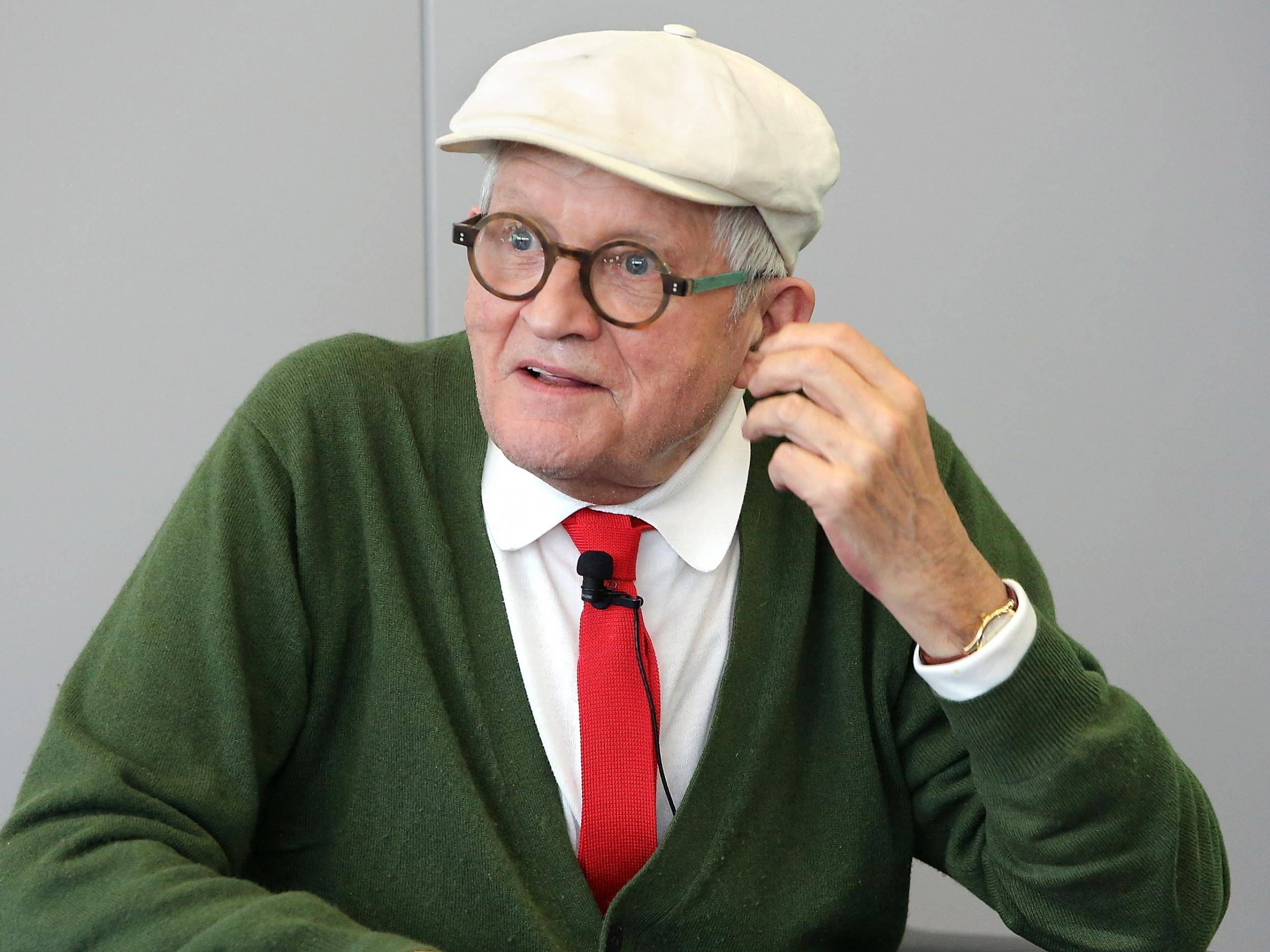 David Hockney commissioned to design new stained glass window for We…