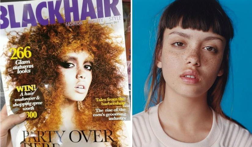 Blackhair Magazine Accidentally Uses White Model On Latest