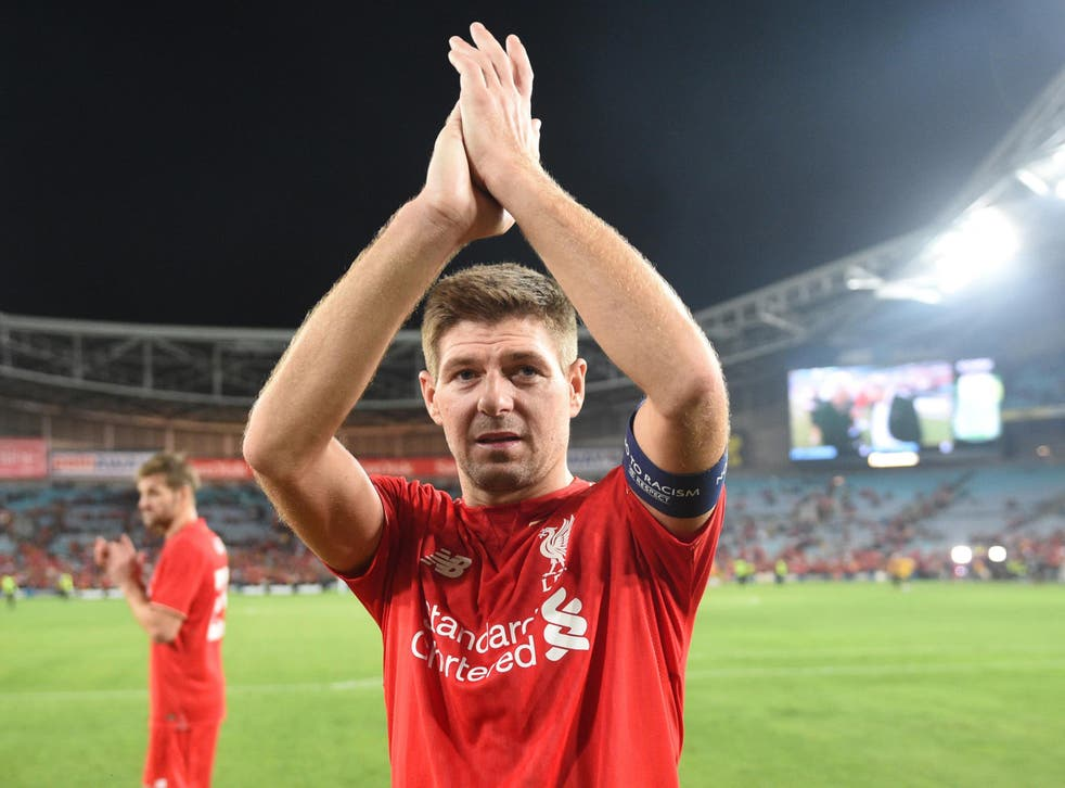Gerrard announced he would leave LA Galaxy in December