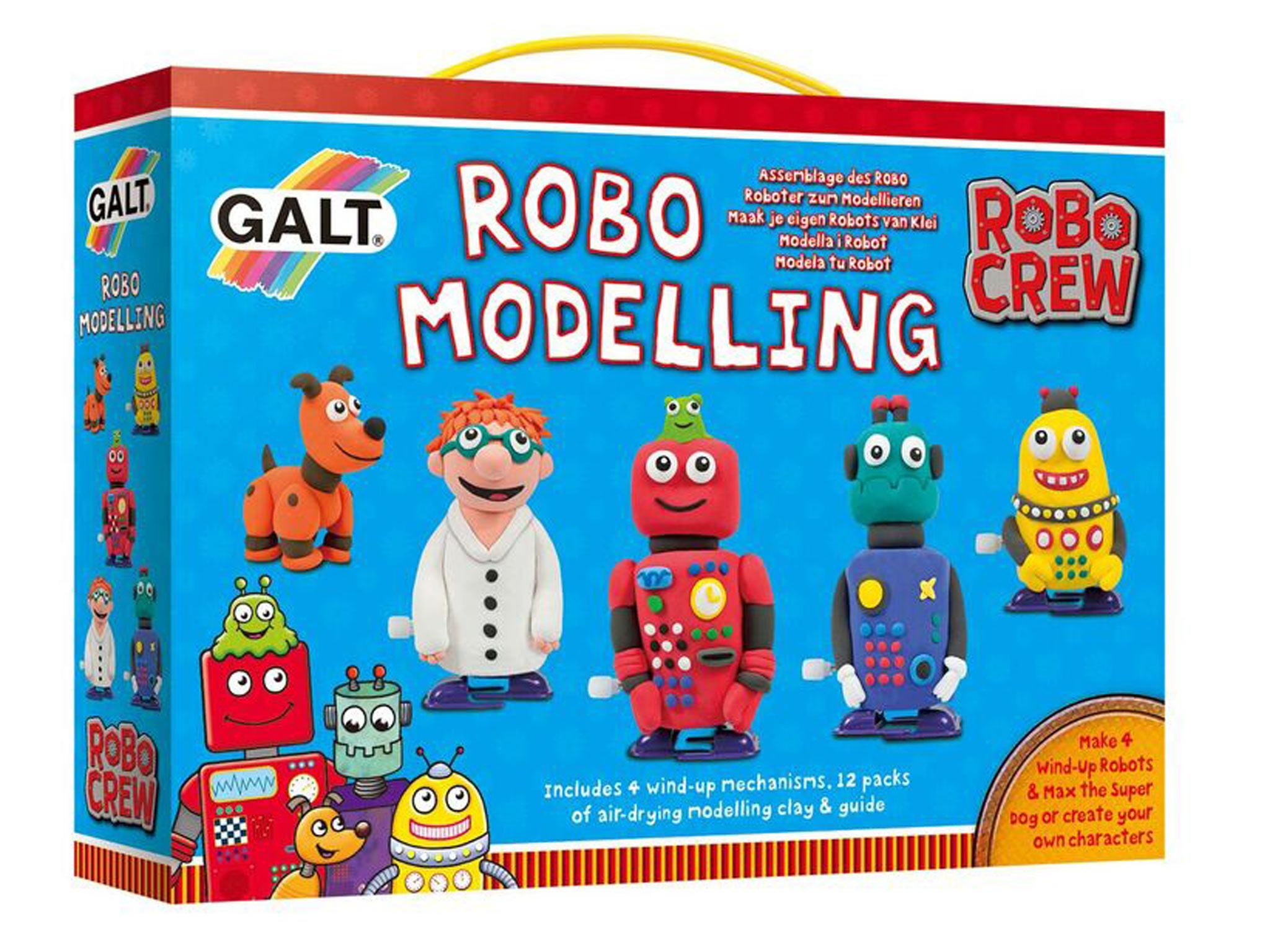 645d0636c You might think of wind-up toys as old fashioned but these make-your-own  wind-up robots are anything but. Model the clay around the mechanisms (four  ...