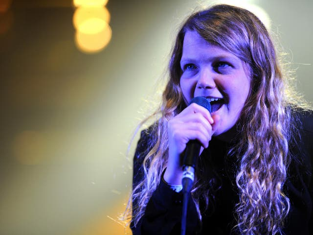 Poet and singer Kate Tempest