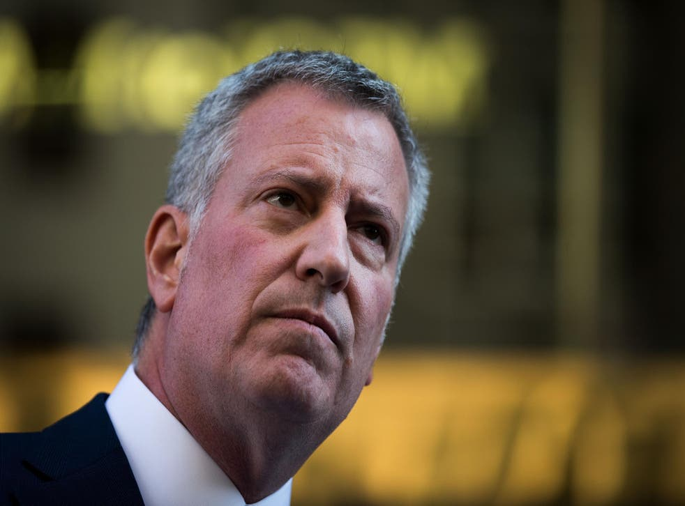 The mayor is one of many across the US who has vowed to stand up for ethnic minorities