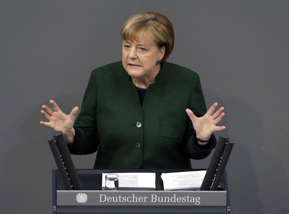 'I don't know who will benefit' from the demise of the TPP deal, German Chancellor Angela Merkel says