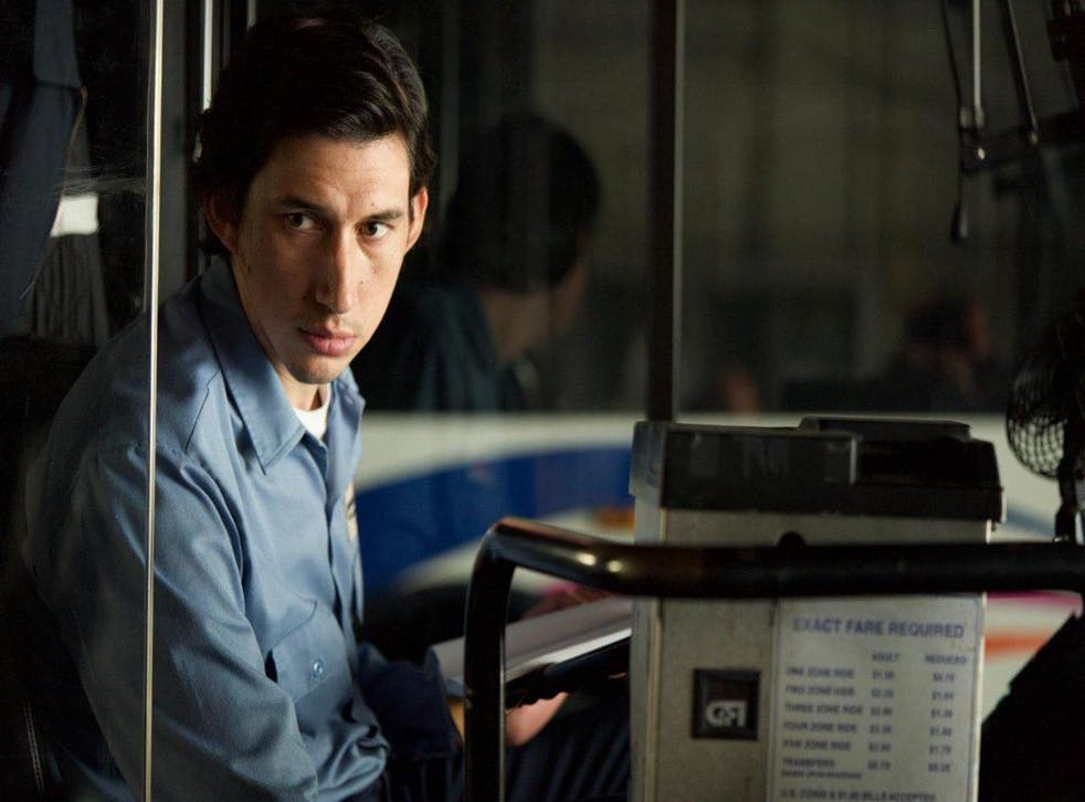 Paterson, played with wide-eyed innocence and good nature by Adam Driver in a role a long way from Kylo Ren in Star Wars