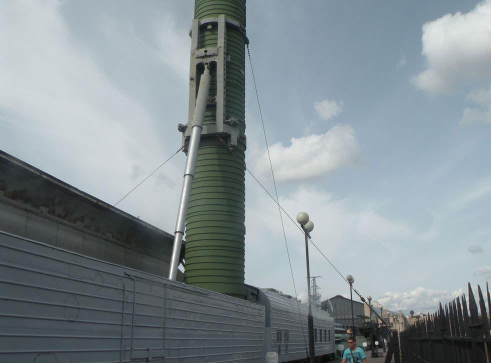 The Barguzin is based on the Soviet-era Molodets missile trains
