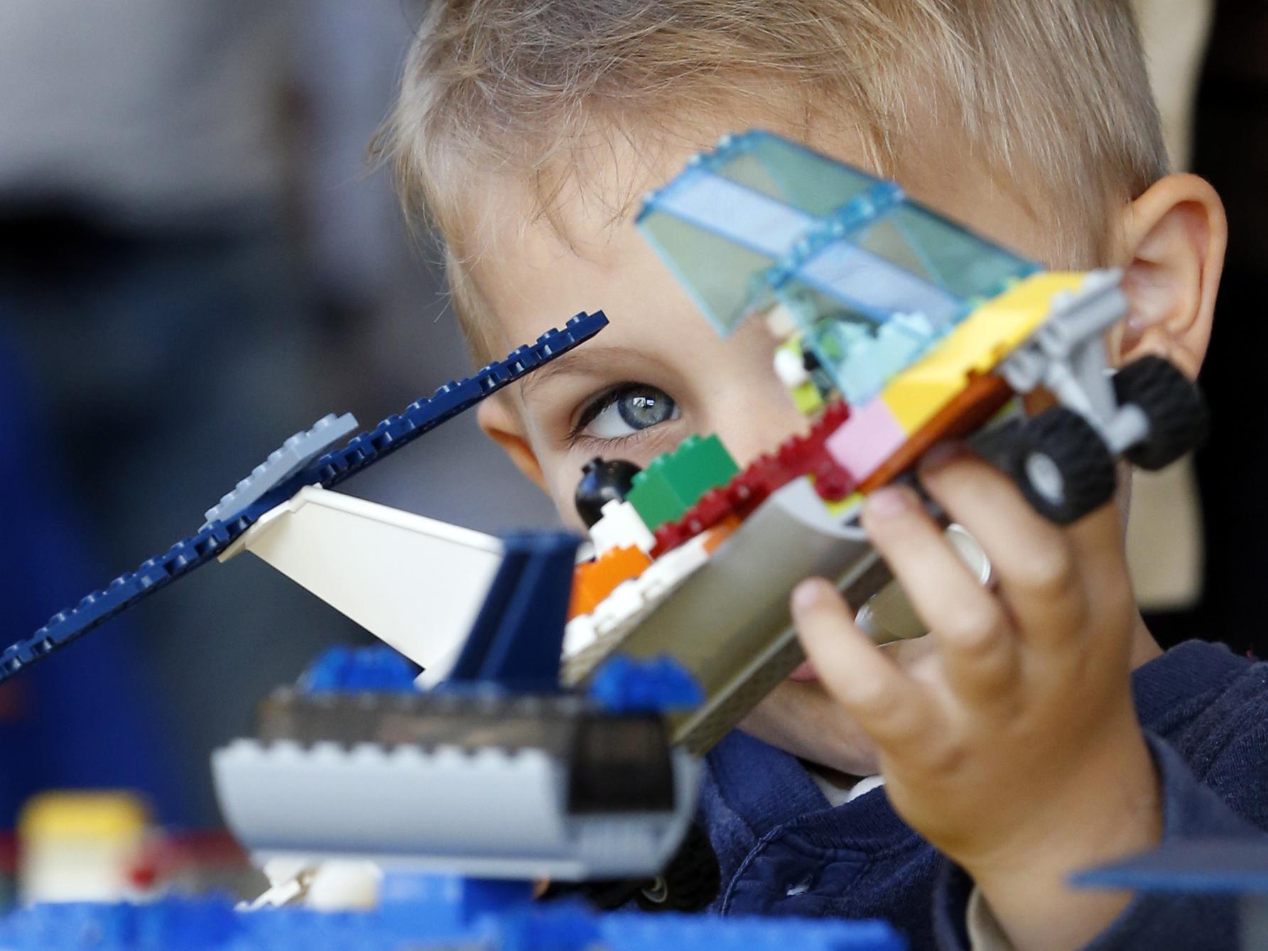 Фото дети и лего профессии