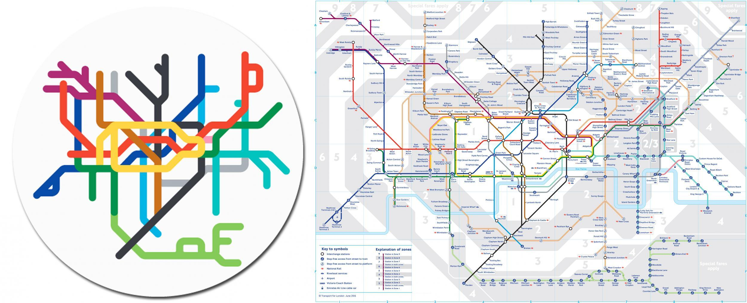 220 Metro Systems From Around The World Beautifully Simplified