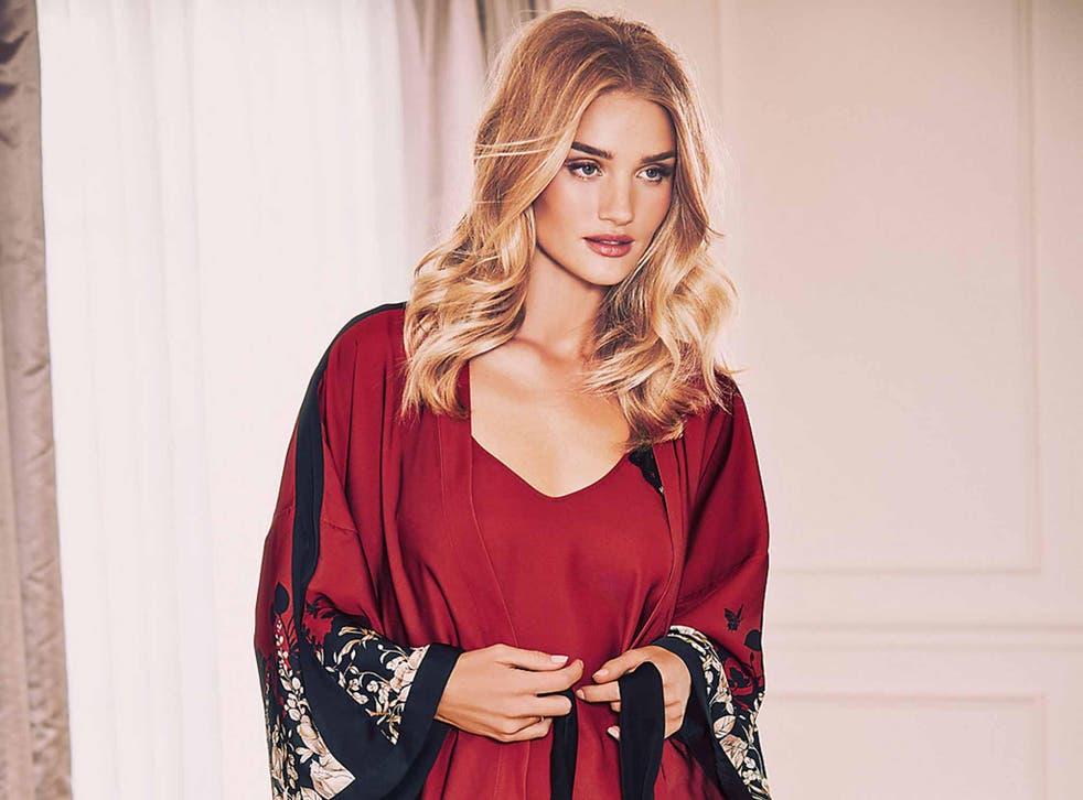 Satin Floral Dressing Gown £40 marksandspencer.com